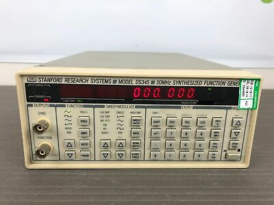 Stanford Research Ds345 Synthesized Function Generator With Opts 01 02 Gpib