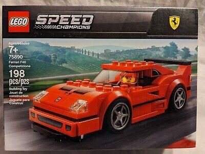 LEGO Speed Champions 75890 Ferrari F40 Competizione New MIB