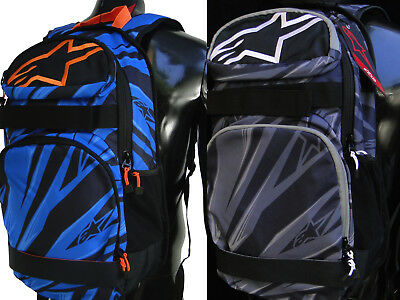 Alpinestars Backpack - New Alpinestars Racing Optimus Skate Travel Backpack School Bag Variations Color