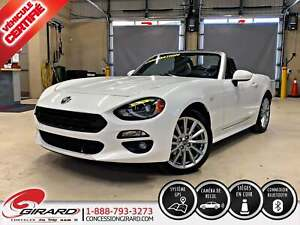2017 Fiat 124 Spider LUSSO*PLAN OR 5 ANS/100 000 KM*CUIR*GPS*