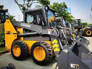 2021 UHI US40K Skid Loader, 750KG Loading 49.3HP, 4in1 Bucket Chipping Norton Liverpool Area Preview