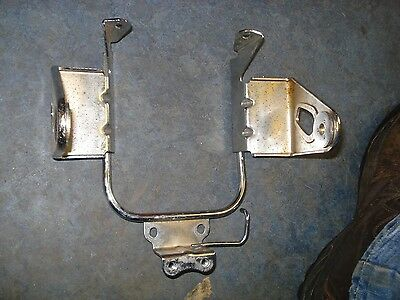 Kawasaki. W650 W 650 headlight mounting bracket chrome.is decent straight