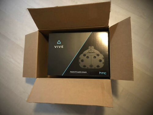 HTC VIVE 2016 RETAIL PACKAGE BOX P/N 99HALN002-02 (NEAR MINT) ESSENTIAL 4 RESALE