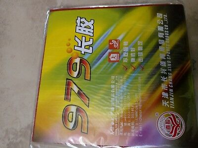 long pip table tennis rubber Xiying 979 red Ox
