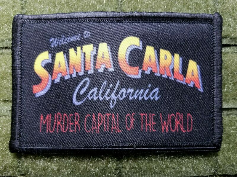The Lost Boys - Welcome to Santa Carla Tactical hook Patch California