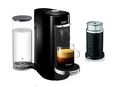 Nespresso Delonghi ENV155BAE VertuoPlus Deluxe Coffee Espresso Machine, Nefarious