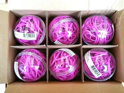 Office Depot Rubber Band Balls - Sz 32 Magenta Colored Part 341-445 - Quantities