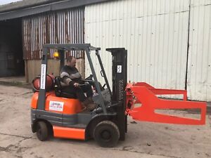 Toyota Gas Forklift Container Spec