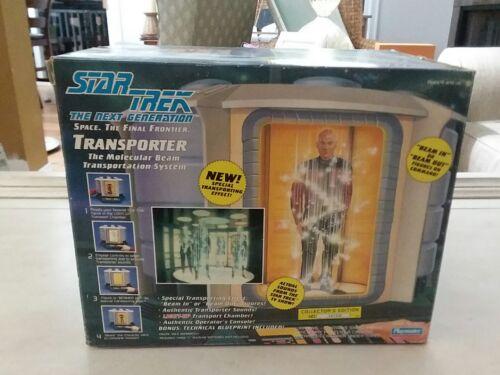 New 1993 Star Trek The Next Generation Transporter By Playmates