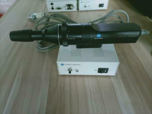 Konica Minolta Color Analyzer CA-310M+CA-PS32/35 Probe SHIP EXPRESS #H398X DX