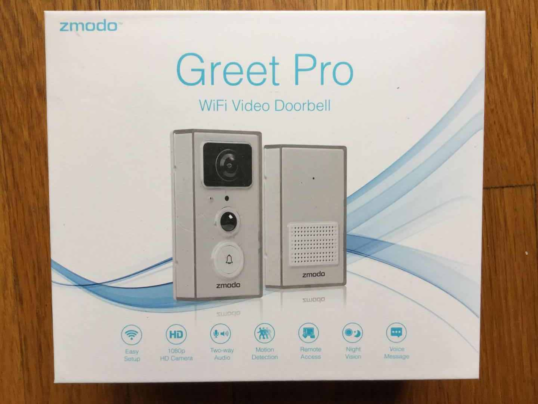 greet universal smart doorbell door