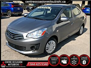 Mitsubishi Mirage G4 ES *NEUF* AIR/VITRES/BLUETOOTH *LIQUIDATION