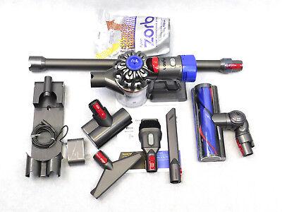 Dyson V7 Animal Cordless Stick Vacuum Cleaner Iron + Extra Mattress Tool + Zorb