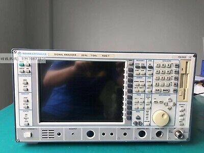 1pc 100 Test Rohde Schwarz Rs Fsiq7 20hz-7ghz Dhl Or Ems P6171 Yl