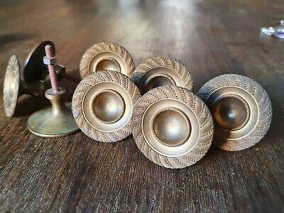1 Antique Button Bronze For Drawer Furniture Style Empire (9 Available)