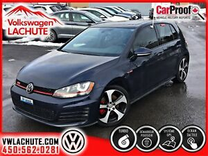 2016 Volkswagen GTI AUTOBAHN + SYS. FENDER + GPS + TOIT + MAGS 1