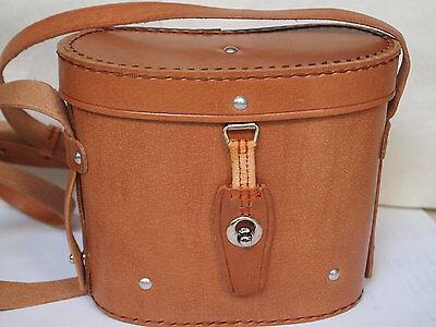Leder Fernglas / Köcher Tasche für 8x30 Ferngläser, Fernglas, braun