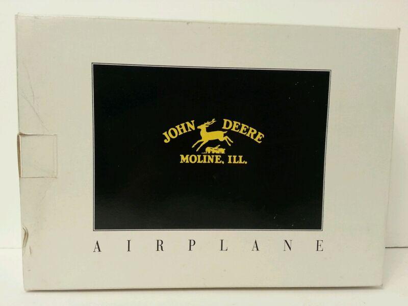 NEW John Deere Airplane Bank  #35002 Spec Cast 1992  Mint