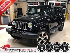 2017 Jeep Wrangler Unlimited SAHARA*2 TOITS*AUDIO ALPINE*BLUETOO