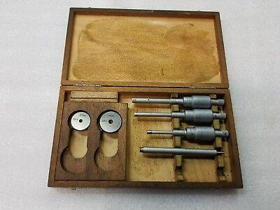 Etalonbrownsharpe Intrimik Bore Gage Micrometer Set