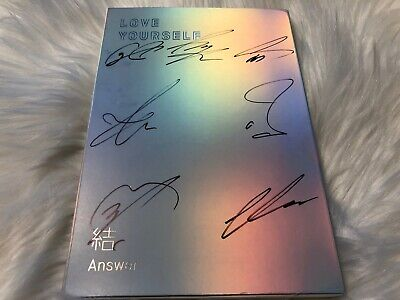 BTS [ANSWER] - ALL MEMBER Autograph(Signed) PROMO ALBUM