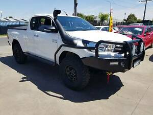 2016 Toyota Hilux SR Space Cab Ute TURBO DIESEL 4X4 EXTRAS LOW KMS Williamstown North Hobsons Bay Area Preview