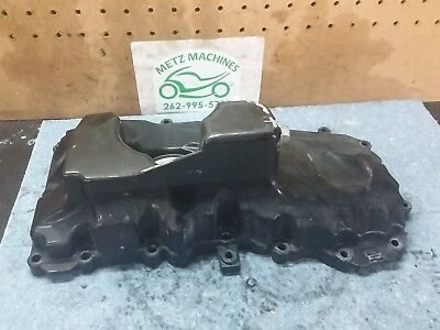 13 2013 Triumph Speed Triple 1050 oil pan belly