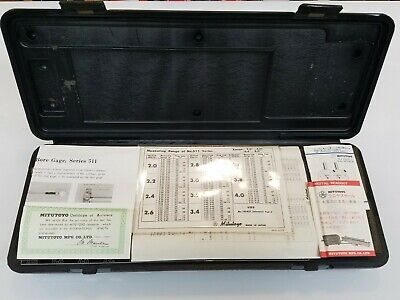 Brand New Original Mitutoyo Standard Bore Gage Model 511-166