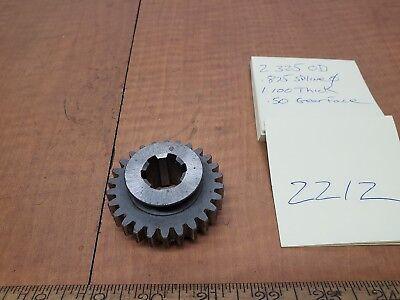 Bridgeport Mill Bull Gear J Head 12193548 Nos