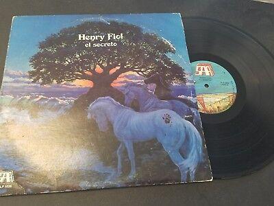 LP SALSA HENRY FIOL EL SECRETO SAR RECORDS