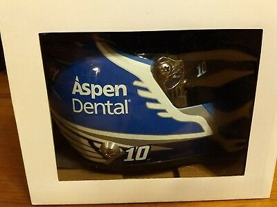 Danica Patrick  10 Aspen Dental Tooth Fairy 2017  Mini Size Collectible Helmet