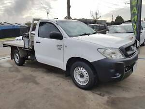 2009 Toyota Hilux Single Cab Tray Ute Williamstown North Hobsons Bay Area Preview