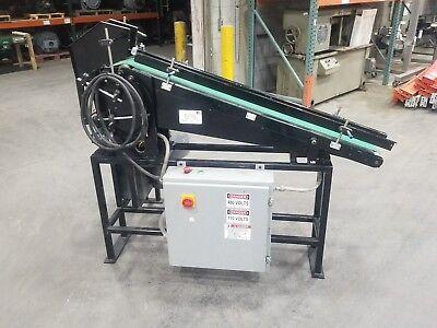 Plastic Bottle Conveyor Stand Up Unit Tipper 480v Vacuum Assist 3809sr
