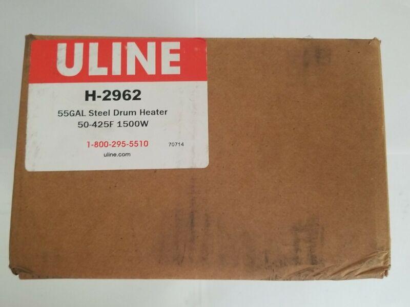 ULINE H-2962 55GAL STEEL DRUM HEATER; 50-425F 1500W
