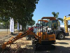 STOCK IN SYD MEL SA AND BNE.2020 UHI 950KG UME10S MINI EXCAVATOR Archerfield Brisbane South West Preview