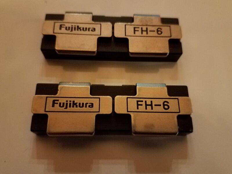 Fujikura FH-6 Fiber Holders FSM-30R, excellent condition.