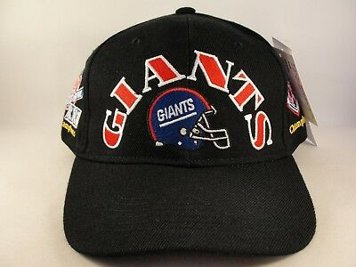 New York Giant Hat (New York Giants NFL Vintage 2X Super Bowl Champions Snapback Hat Cap )