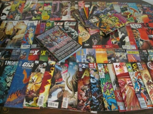 THE Best Marvel & DC Comic Book COLLECTION Lot Grab Bag + Bonus Over 700 SOLD