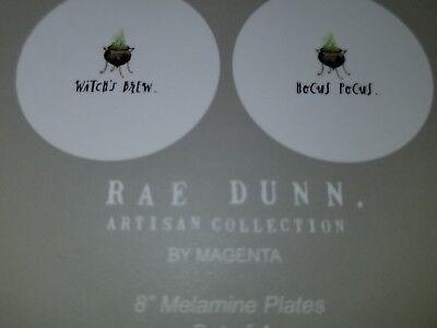 Rae Dunn HALLOWEEN Lunch Plates Halloween (Halloween Lunch)