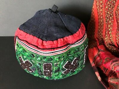Old Handmade Turkmenistan Hat / Cap …beautiful collector's item