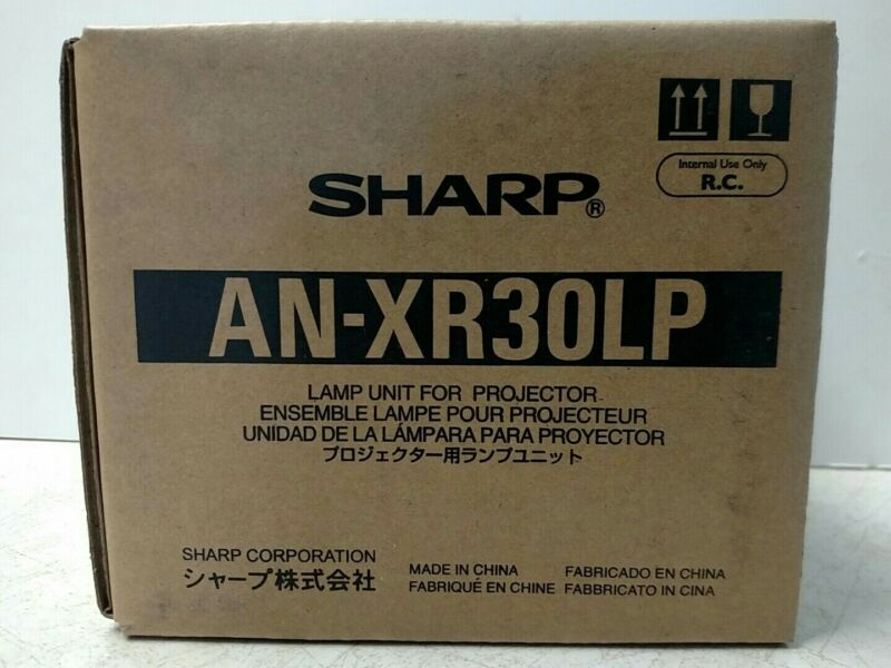 SHARP AN-XR30LP ANXR30LP FACTORY ORIGINAL BULB IN HOUSING FOR PROJECTOR