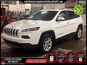 Jeep Cherokee 4X4 2015 BLANC  North Édition camera de recul