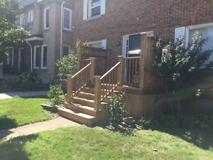ALL INCLUSIVE 2 BDRM w/ ATTACHED GARAGE, LAUNDRY, DECK, YARD