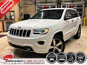 2015 Jeep Grand Cherokee OVERLAND*CUIR*TOIT PANO*MAGS*CAMÉRA*SIÈ