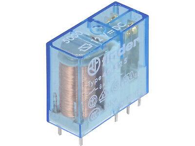 1 pc 40.52.7.024.5000  FINDER 4052 Relais Print 2xU 8A 24VDC 1200R Sensetiv #BP