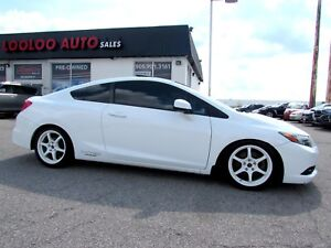 2012 Honda Civic Si Coupe 6 SPEED NAVIGATION CERTIFIED 2YR Warra