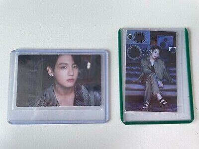 BTS BE Lucky Draw (Sound Wave, M2U) Event Plastic Photo Card Jungkook JK 2ea