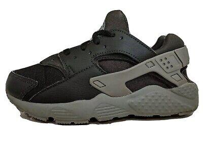 Nike Air Huarache Run Ultra Black Gray Toddler Kids Running Shoes Size 1.5y