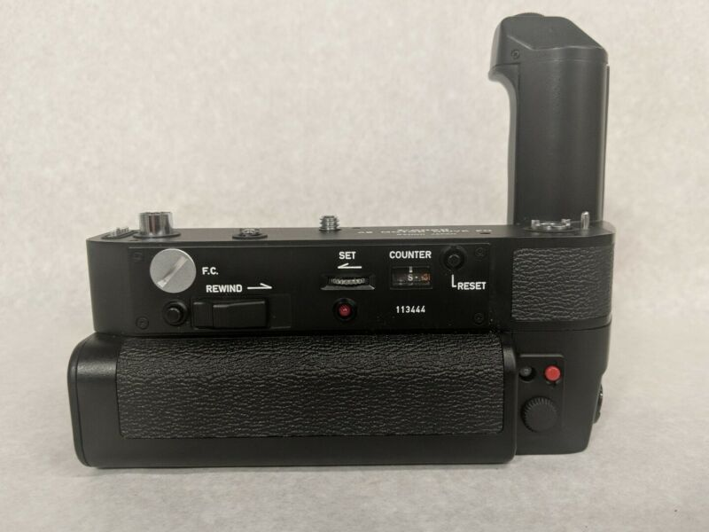 Canon AE Motor Drive FN w/Battery Pack