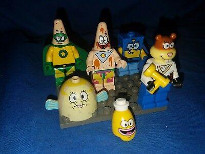 MINI FIGURE LEGO SPONGEBOB LEGO MINIFIG PUFF MRS
